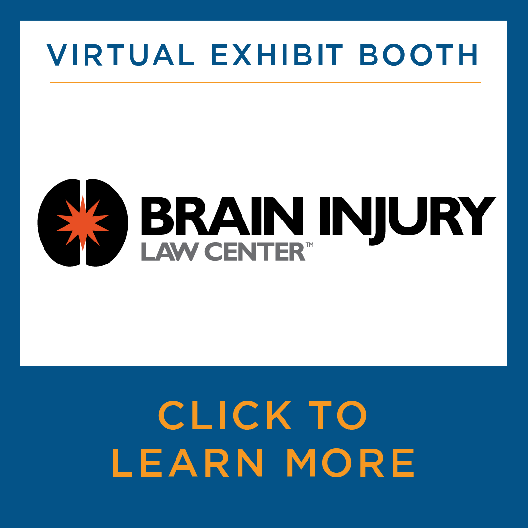 Virtual Exhibit Booth for Brain Injury Law Center. Click to learn more.
