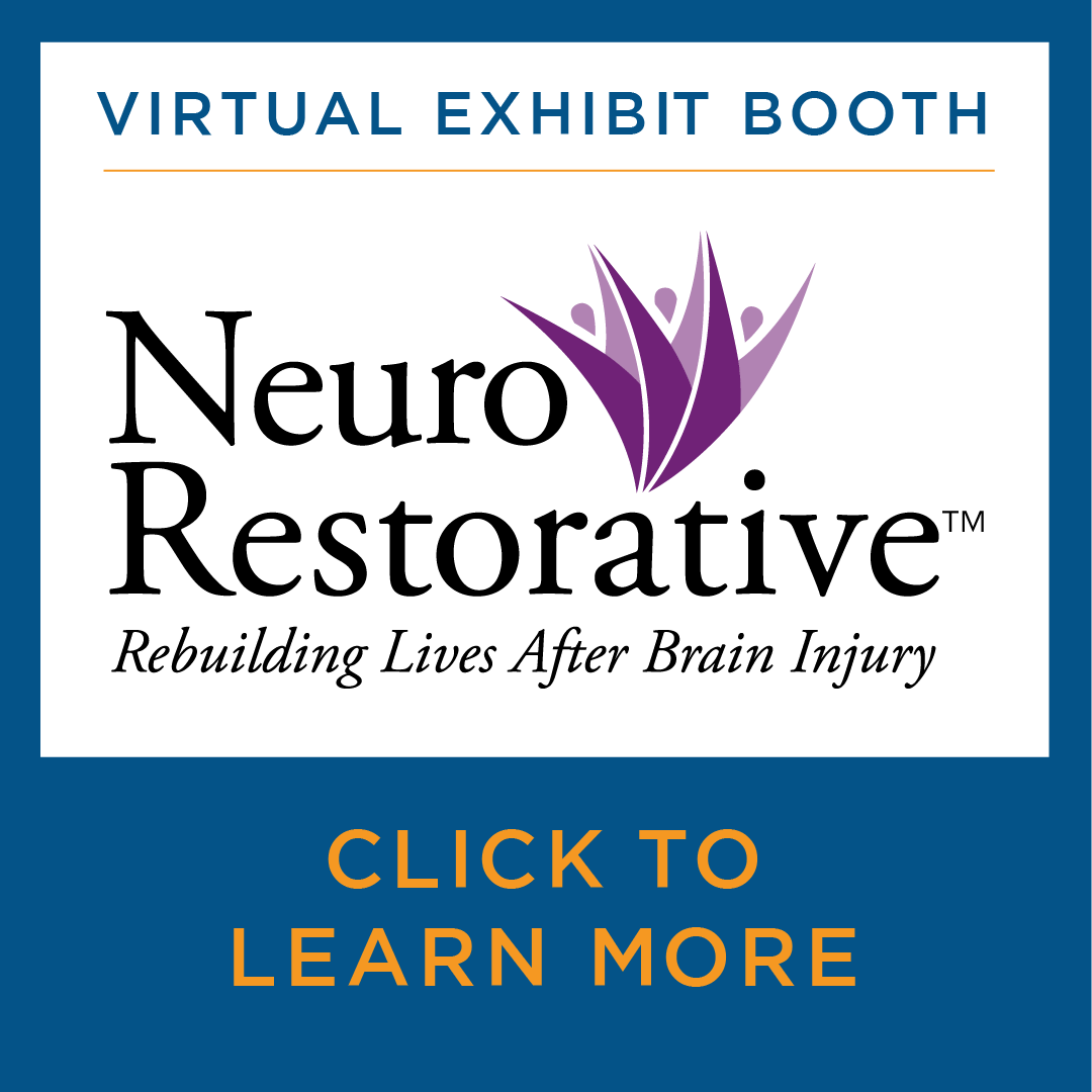 Virtual Exhibit Booth for NeuroRestorative. Click to learn more.