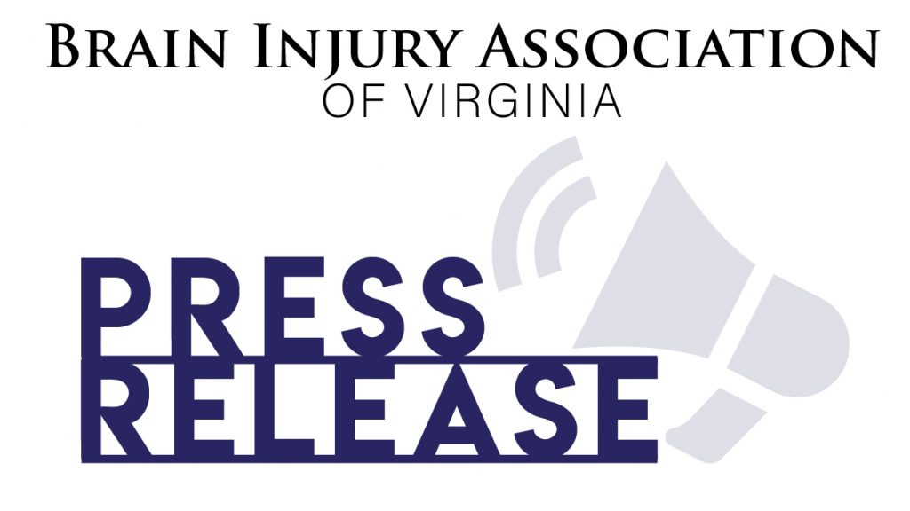 Brain Injury Association of Virginia Press Release