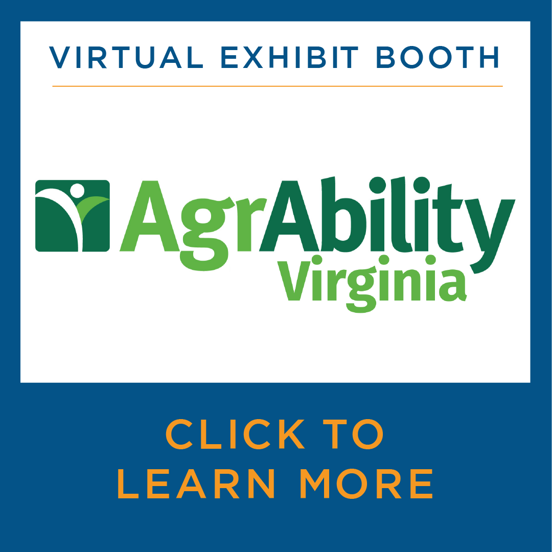 Virtual Exhibit Booth - AgrAbility Virginia - Click to learn more
