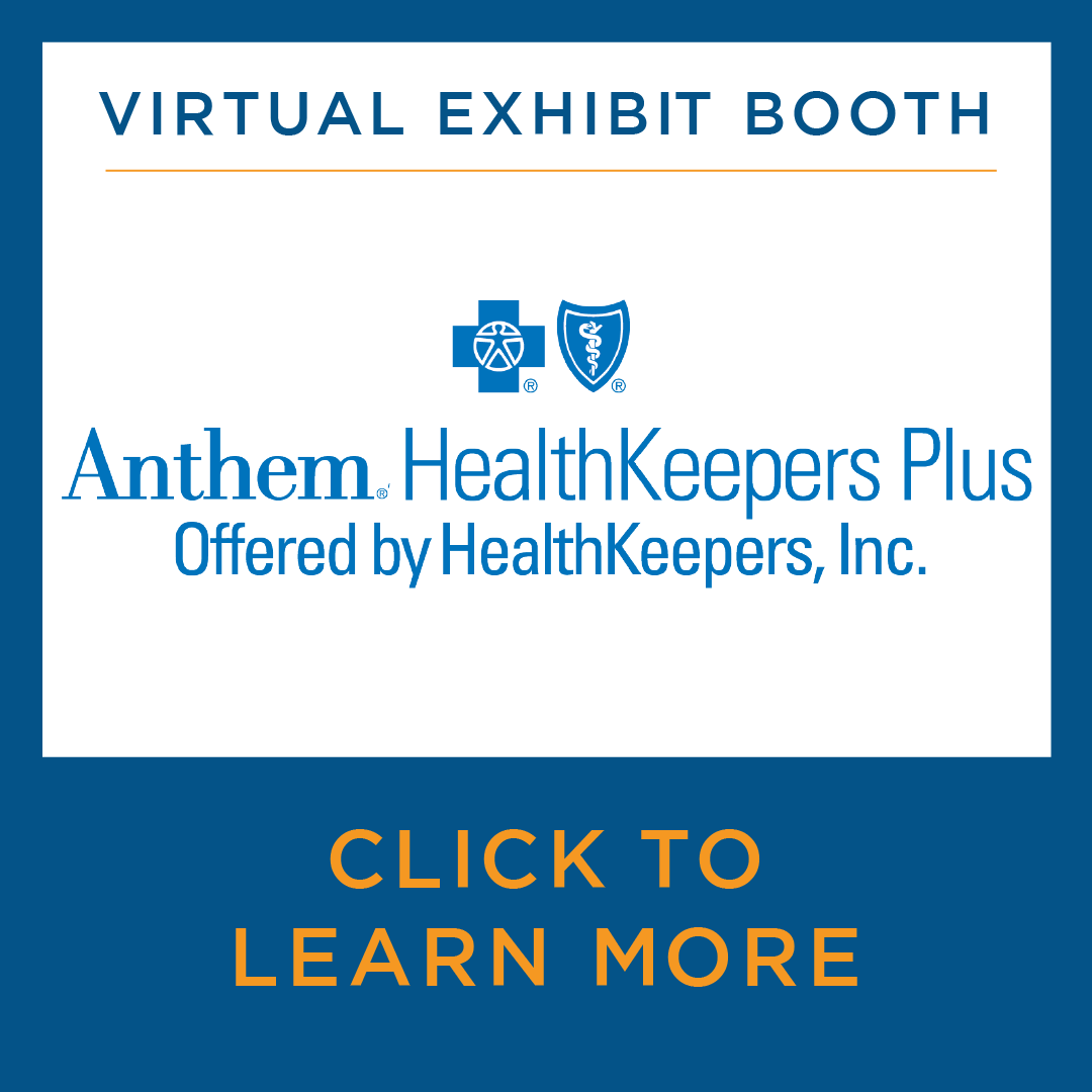 Virtual Exhibit Booth - Anthem HealthKeepers Plus - Click to Learn More.