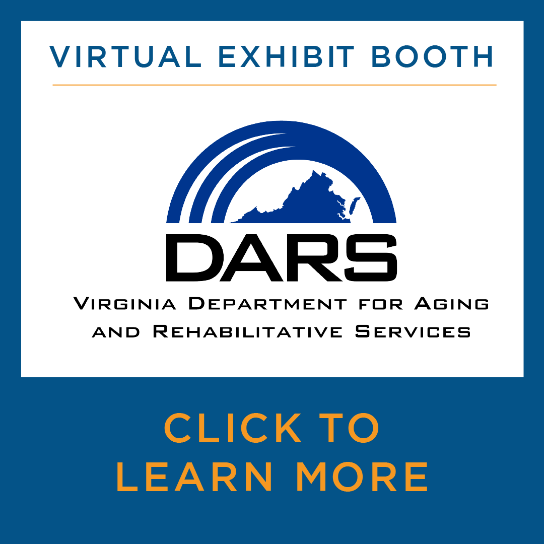 Virtual exhibit booth - DARS - department for aging and rehabilitative services